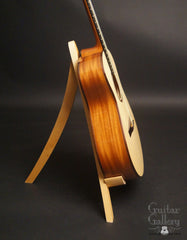 Fay Cuban mahogany guitar side