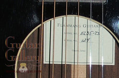 Flammang EL35-T guitar label