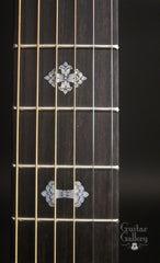 Froggy Bottom 50th Anniversary guitar Glenn Carson engraved inlays