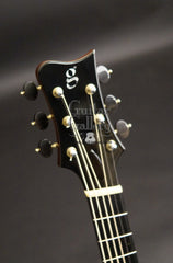 Greenfield G1 guitar headstock