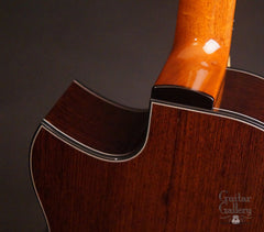 Greenfield GF guitar detail
