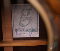 Greenfield GF guitar label