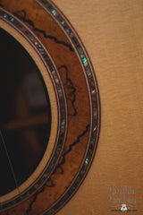 Greenfield GF guitar rosette detail