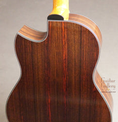 Indian rosewood Greenfield guitar