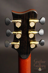Greenfield guitar headstock back
