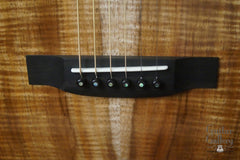 Froggy Bottom H12 Ltd All Koa guitar bridge