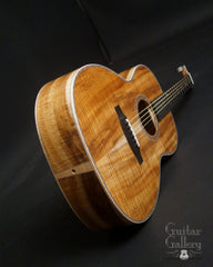 Froggy Bottom H12 Ltd All Koa guitar end