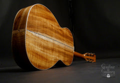 Froggy Bottom H12 Ltd All Koa guitar glam shot back