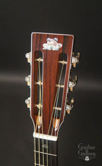 Froggy Bottom H12 Ltd All Koa guitar slotted headstock
