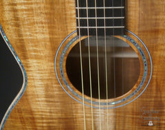 Froggy Bottom H12 Ltd All Koa guitar rosette