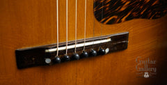 circa 1940 Gibson HG-00 guitar bridge