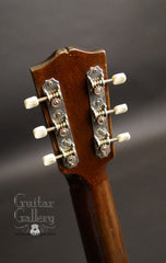 circa 1940 Gibson HG-00 guitar headstock back