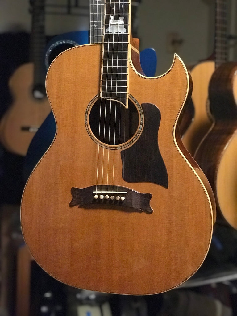 Hewett GC cutaway Guitar for sale