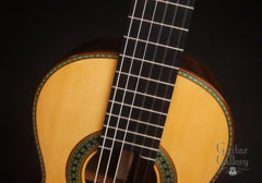 Hill Torres FE-18 classical guitar at Guitar Gallery