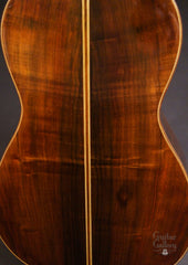 Hill Torres FE-18 classical guitar back close up