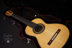 Kenny Hill Torres classical guitar inside case