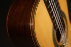 Hill Torres FE-18 classical guitar detail