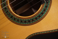 Kenny Hill Torres classical guitar rosette detail