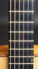 Indian Hill Concert Guitar fretboard