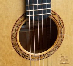 Indian Hill Concert Guitar rosette