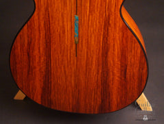 TreeHouse OMZ guitar back detail