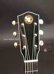 Square Deal JN guitar headstock
