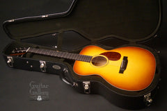 Collings OM1A JL SB guitar inside case