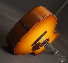 Collings OM1A JL SB guitar end