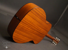 Collings OM1A JL SB guitar mahogany back
