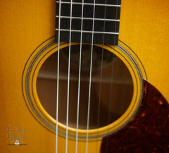 Collings OM1A JL SB guitar rosette