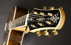 Brazilian rosewood Bourgeois guitar headstock inlay