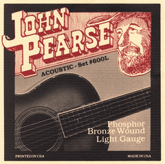 John Pearse 600L strings