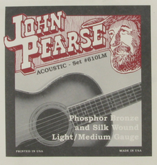 John Pearse 610LM strings (silk wound)
