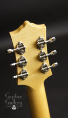 Borges 00 guitar headstock back