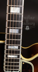 Gibson L-5c archtop guitar fretboard
