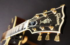 Gibson L-5c archtop guitar headstock