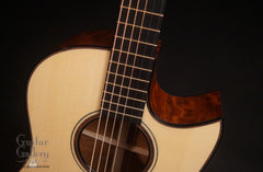 Rasmussen S cutaway TREE mahogany guitar at Guitar Gallery