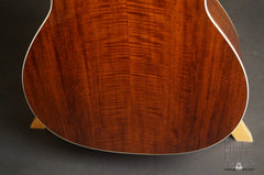 Bourgeois Custom L-DBO guitar low back