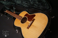 Bourgeois Custom L-DBO guitar inside case