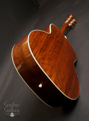Bourgeois Custom L-DBO guitar back