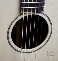 Lowden O35c guitar abalone rosette
