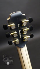 Lowden Pierre Bensusan Signature model guitar headstock back