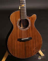 Laurie Williams African Blackwood Kiwi Guitar