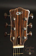 Laurie Williams guitar headstock