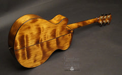 Laurie Williams Signature Kiwi Guitar ancient kauri back