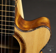 Laurie Williams Signature Kiwi Guitar cutaway