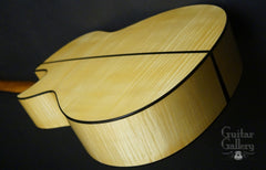 Rasmussen Maple guitar Bosnian Maple back
