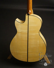 Rasmussen Maple guitar back