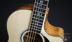 Larrivee LV-10 Koa custom guitar angel