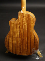 Larrivee LV-10 Koa custom guitar back